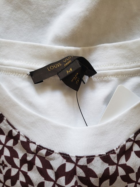 Louis Vuitton Lv Monogram Embroidered Sheer Confidential T Shirt White Image 9