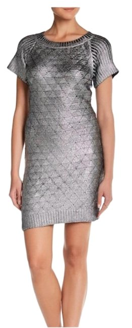 Preload https://img-static.tradesy.com/item/26346803/romeo-and-juliet-couture-metallic-silver-sweater-mini-short-night-out-dress-size-8-m-0-1-650-650.jpg