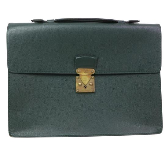 Preload https://img-static.tradesy.com/item/26346816/louis-vuitton-serviette-clad-taiga-business-1353l14-green-laptop-bag-0-2-540-540.jpg