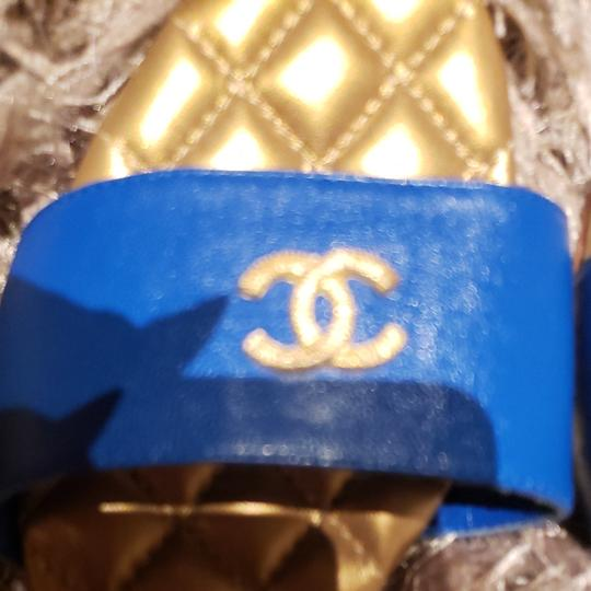 Chanel BLUE Sandals Image 1
