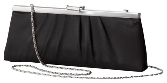 Preload https://img-static.tradesy.com/item/26346844/jessica-mcclintock-gunne-sax-by-pleated-blacl-satin-clutch-0-2-540-540.jpg