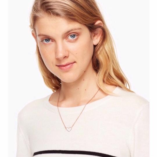 Kate Spade Kate Spade Yours Truly Open Heart Necklace Image 1