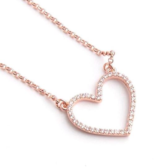 Kate Spade Kate Spade Yours Truly Open Heart Necklace Image 4