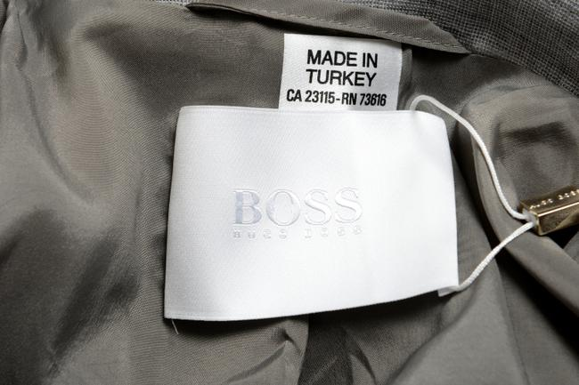 Hugo Boss Gray Blazer Image 3