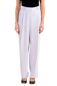 Hugo Boss Wide Leg Pants Purple