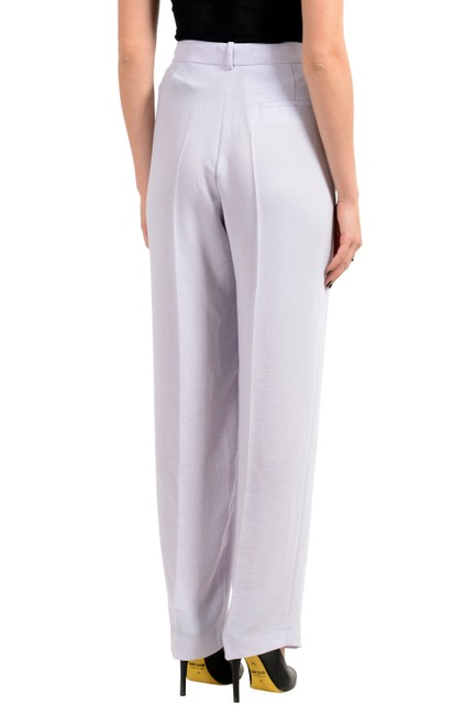 Hugo Boss Wide Leg Pants Purple Image 2