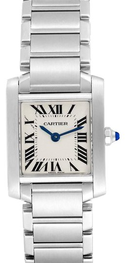 Preload https://img-static.tradesy.com/item/26347037/cartier-silver-box-tank-francaise-small-steel-ladies-w51008q3-papers-watch-0-2-540-540.jpg