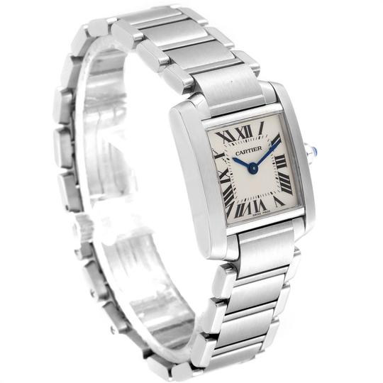 Cartier Cartier Tank Francaise Small Steel Ladies Watch W51008Q3 Box Papers Image 2