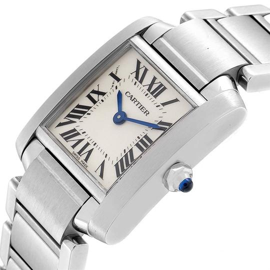 Cartier Cartier Tank Francaise Small Steel Ladies Watch W51008Q3 Box Papers Image 4