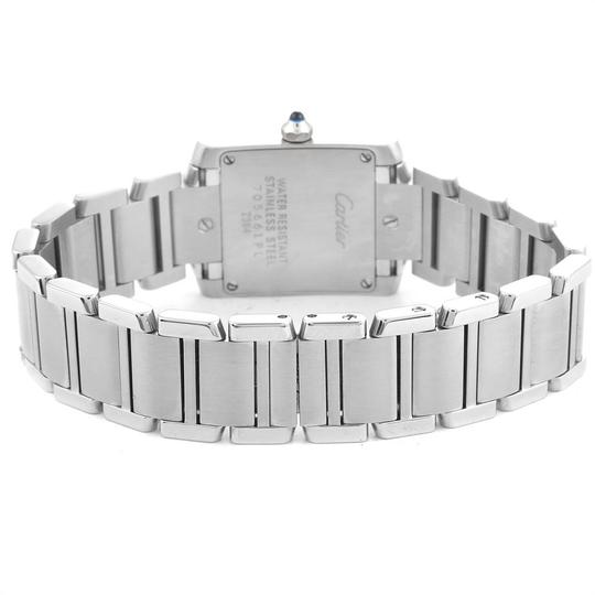 Cartier Cartier Tank Francaise Small Steel Ladies Watch W51008Q3 Box Papers Image 5