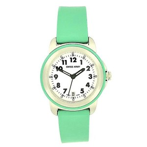 SWISS ARMY SWISS ARMY Steel & Silicone Rubber Date 100 Meters Swiss Made Quartz