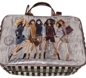 Henri Bendel brown, white, multi Travel Bag