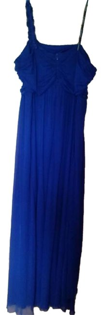 City Triangles One Shoulder Full Length Dress