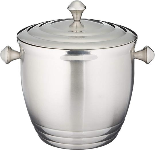 Preload https://img-static.tradesy.com/item/26348463/silver-ice-bucket-tuscany-stainless-steel-ice-bucket-by-lenox-0-0-540-540.jpg