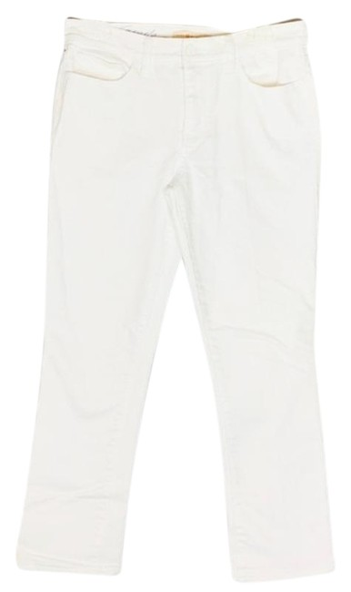 Item - White Pardon My French Straight Leg Jeans Size 28 (4, S)