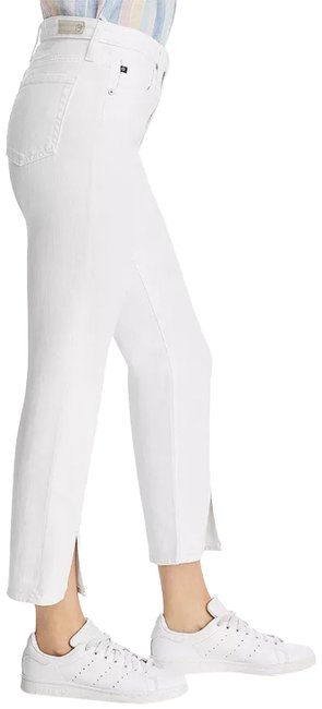 Item - White Isabelle High Rise Crop Capri/Cropped Jeans Size 29 (6, M)