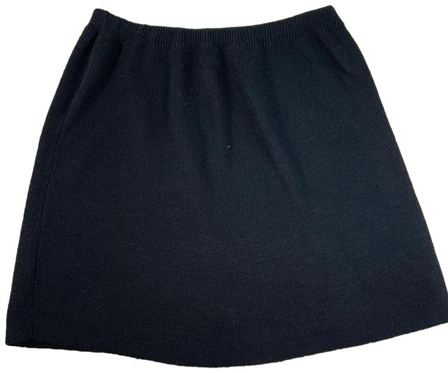 Item - Black Vintage Knit Skirt Size 10 (M, 31)