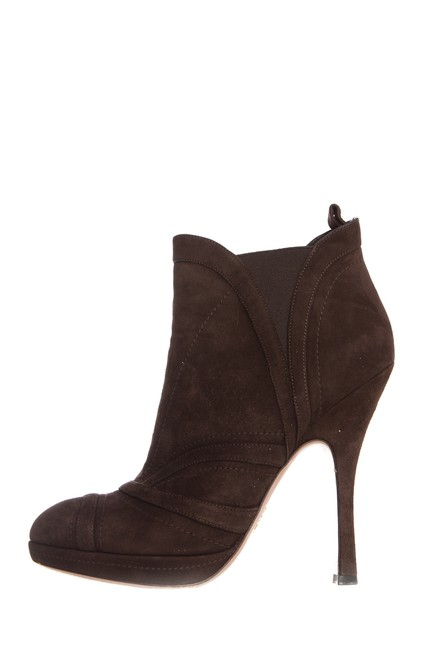 Item - Brown Suede Boots/Booties Size EU 39 (Approx. US 9) Regular (M, B)