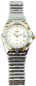 Breitling Stainless Steel and 18K Wings Automatic Watch