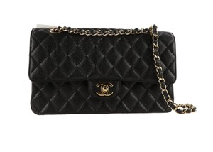Chanel Caviar Quilted Medium Double Flap Shoulder Bag