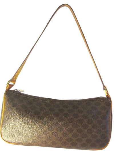 Preload https://item3.tradesy.com/images/celine-macadam-pochette-brown-canvas-and-leather-clutch-2635042-0-0.jpg?width=440&height=440