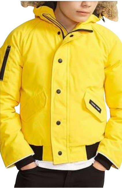 Item - Yellow L Youth Rundle 2018-19aw Parka Coat Size 14 (L)