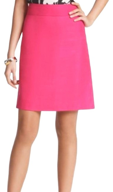 Item - Pink Hot A-line Skirt Size 2 (XS, 26)