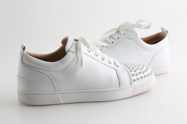 Item - White Louis Junior Spikes Shoes