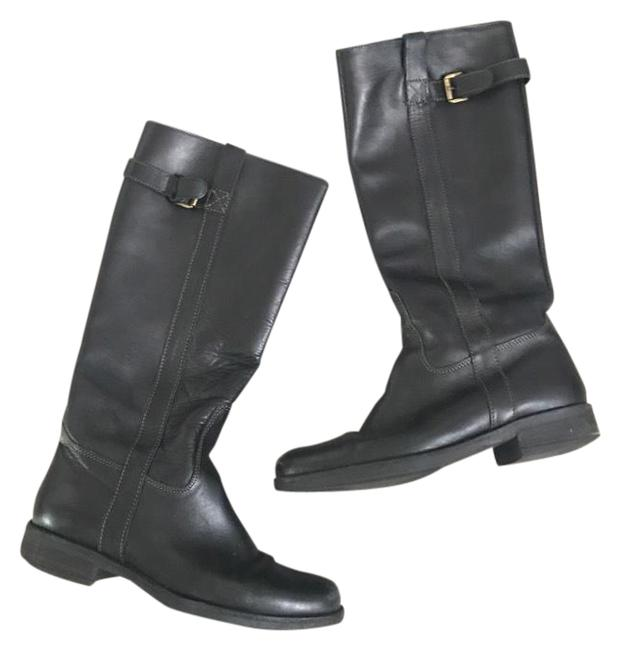 Item - Black Brewster Leather Riding Boots/Booties Size US 8 Regular (M, B)