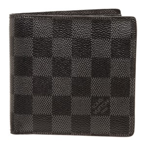 Louis Vuitton Louis Vuitton Damier Graphite Canvas Leather Marco Bifold Wallet