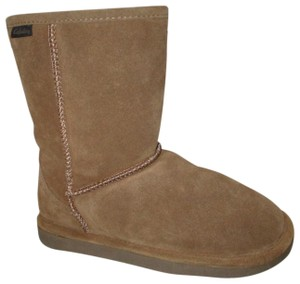 Cabela's Leather Suede Shearling Wool Onm003 brown Boots