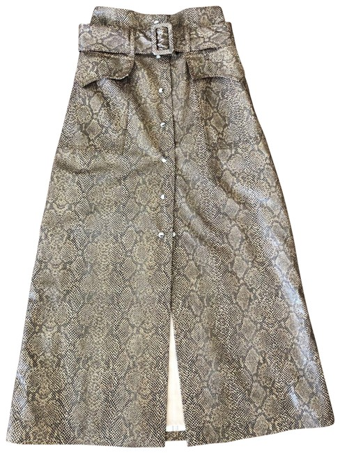 Nanushka Brown XS Chic Snake Print Is Xs.condition:never Worn Tags Attached. Skirt Size 0 (XS, 25) Nanushka Brown XS Chic Snake Print Is Xs.condition:never Worn Tags Attached. Skirt Size 0 (XS, 25) Image 1