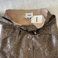 Nanushka Brown XS Chic Snake Print Is Xs.condition:never Worn Tags Attached. Skirt Size 0 (XS, 25) Nanushka Brown XS Chic Snake Print Is Xs.condition:never Worn Tags Attached. Skirt Size 0 (XS, 25) Image 6