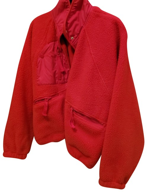 Item - Red Cropped Jacket Size 2 (XS)