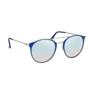 Ray Ban Silver Gradient & Mirrored Lens RB3546 90109U 52MM Round Unisex