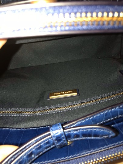 Tory Burch Satchel in Blue Image 9
