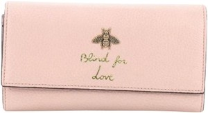 Gucci LIND FOR LOVE GUCCI BEE LONG WALLET