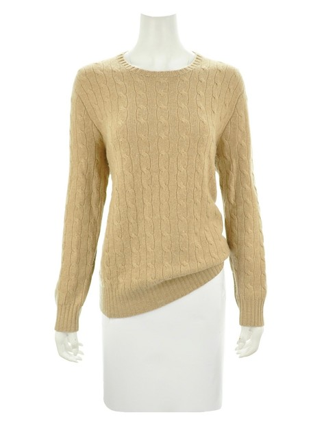 Preload https://img-static.tradesy.com/item/26354059/polo-ralph-lauren-by-cashmere-size-m-tan-sweater-0-0-650-650.jpg