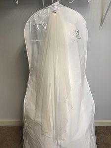 Stella York Ivory Long Bridal Veil