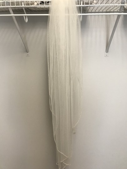 Stella York Ivory Long Bridal Veil Image 1