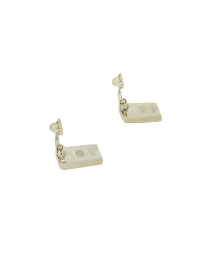 Chanel Chanel Ace Playing Card Clip Earrings Image 2