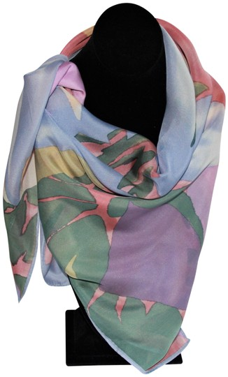 Preload https://img-static.tradesy.com/item/26354103/anne-klein-vintage-for-vera-square-silk-flower-scarfwrap-0-2-540-540.jpg