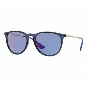 Ray-Ban Dark Violet Mirrored Lens RB4171 6338/D1 54 Erika Square Unisex