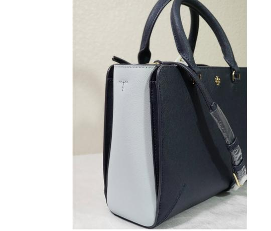 Tory Burch Satchel in Blue Image 1