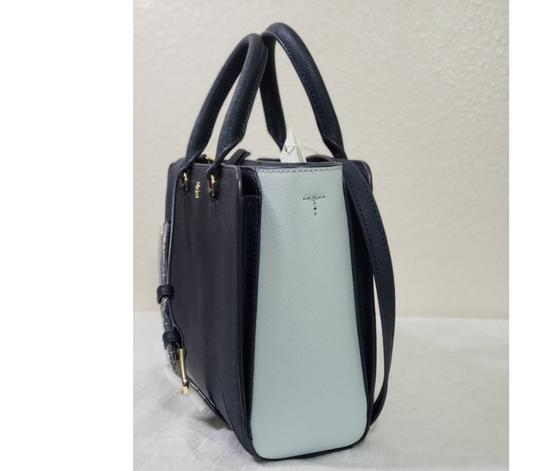 Tory Burch Satchel in Blue Image 2
