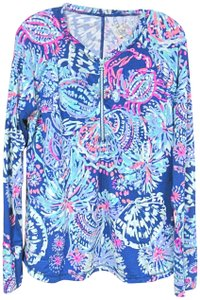 Lilly Pulitzer T Shirt Blue, Pink