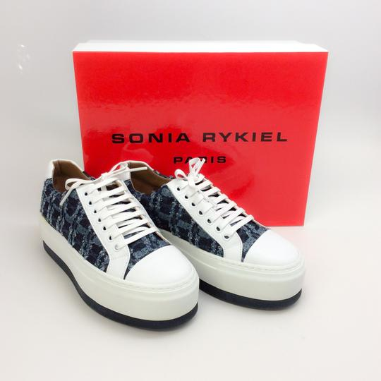 Sonia Rykiel White / Denim Athletic Image 8