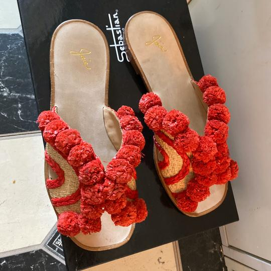 Joie red Sandals Image 5