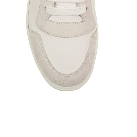 Burberry Leather Laces High Top Suede Graffiti White Athletic Image 3