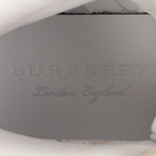 Burberry Leather Laces High Top Suede Graffiti White Athletic Image 6